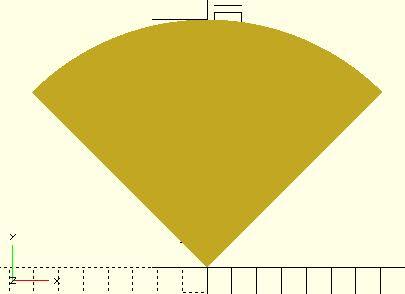 扇形波浪矢量图